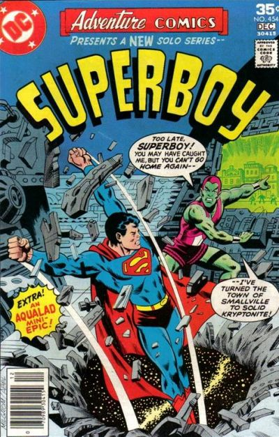 Cover for Adventure Comics (DC, 1938 series) #454