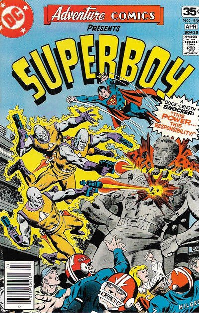 Cover for Adventure Comics (DC, 1938 series) #456