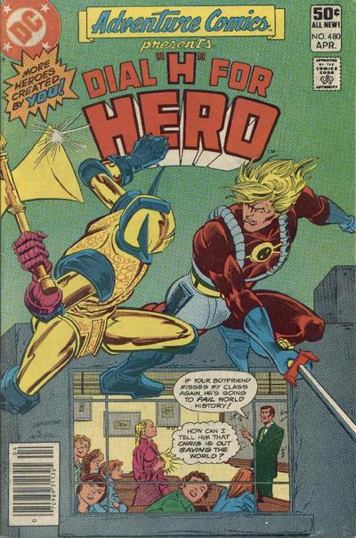 Cover for Adventure Comics (DC, 1938 series) #480 [Direct Sales]