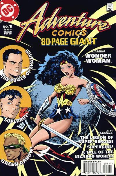 Cover for Adventure Comics 80-Page Giant (DC, 1998 series) #1