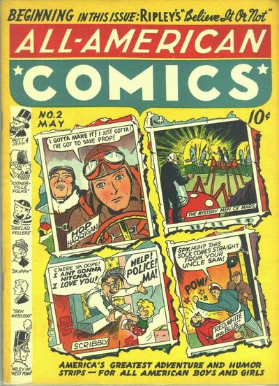 Cover for All-American Comics (DC, 1939 series) #2