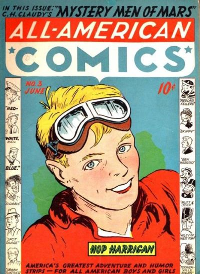 Cover for All-American Comics (DC, 1939 series) #3