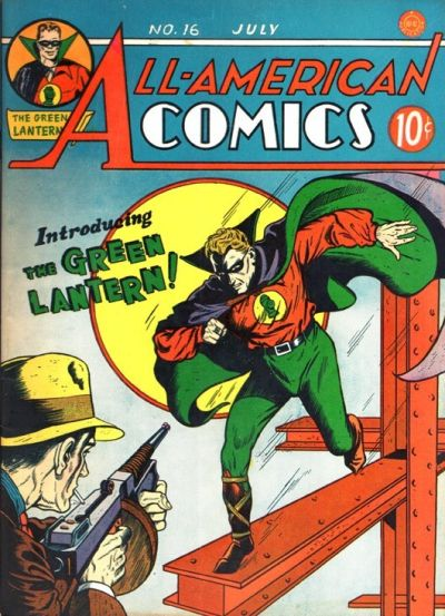 Cover for All-American Comics (DC, 1939 series) #16