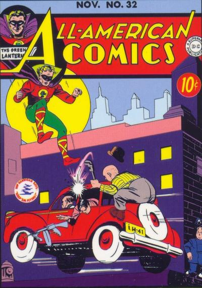 Cover for All-American Comics (DC, 1939 series) #32
