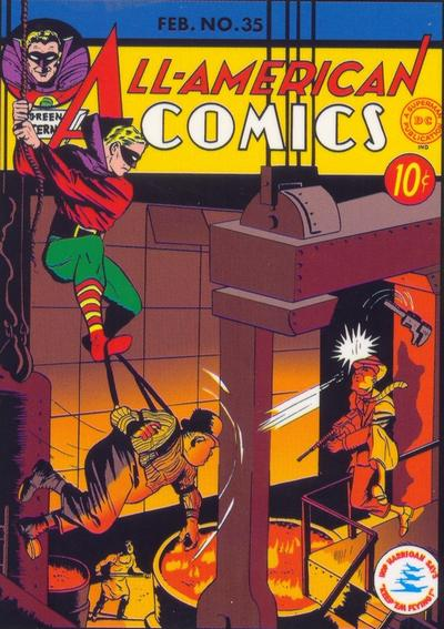 Cover for All-American Comics (DC, 1939 series) #35
