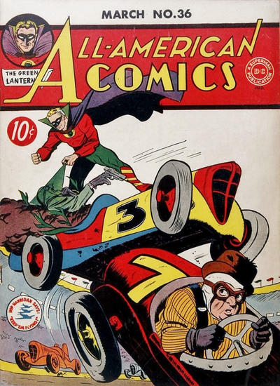Cover for All-American Comics (DC, 1939 series) #36