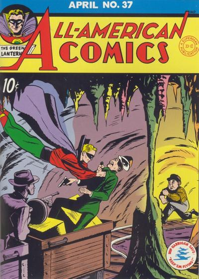 Cover for All-American Comics (DC, 1939 series) #37