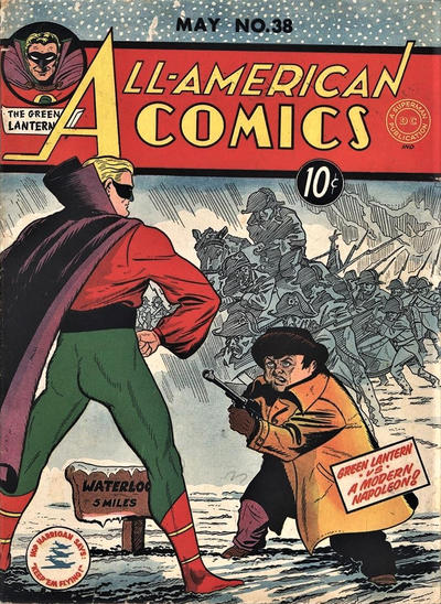 Cover for All-American Comics (DC, 1939 series) #38