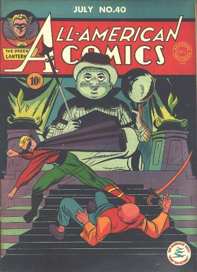 Cover for All-American Comics (DC, 1939 series) #40