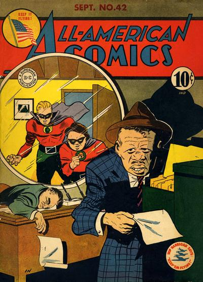 Cover for All-American Comics (DC, 1939 series) #42