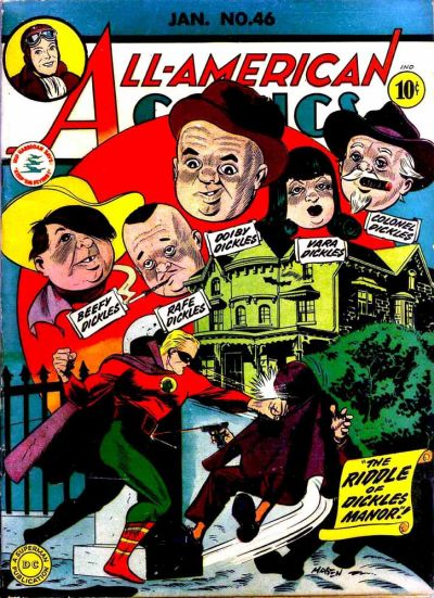 Cover for All-American Comics (DC, 1939 series) #46