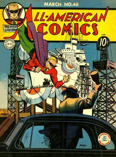 Cover for All-American Comics (DC, 1939 series) #48