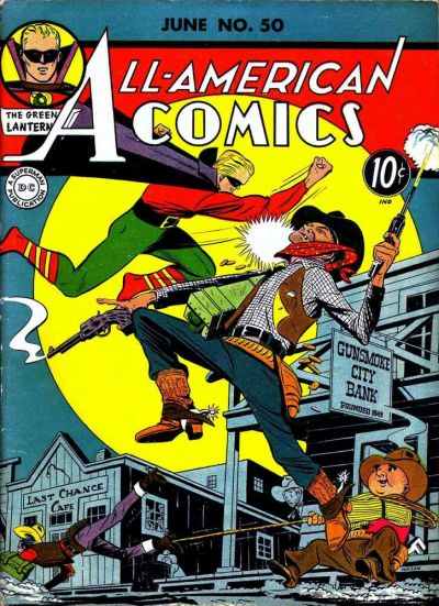 Cover for All-American Comics (DC, 1939 series) #50