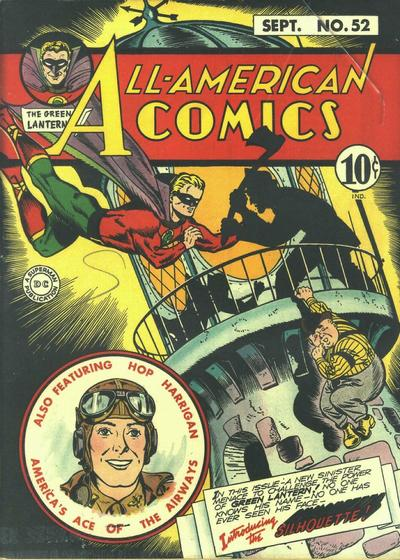 Cover for All-American Comics (DC, 1939 series) #52