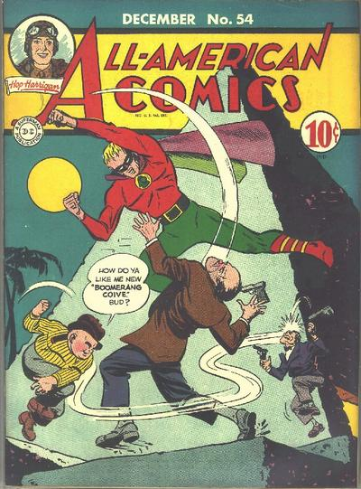 Cover for All-American Comics (DC, 1939 series) #54
