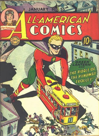 Cover for All-American Comics (DC, 1939 series) #55