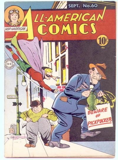 Cover for All-American Comics (DC, 1939 series) #60