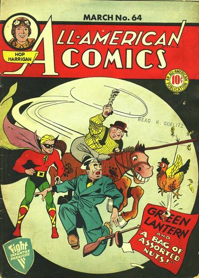 Cover for All-American Comics (DC, 1939 series) #64