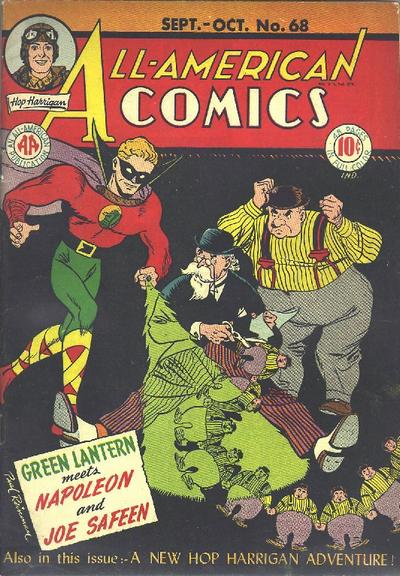 Cover for All-American Comics (DC, 1939 series) #68