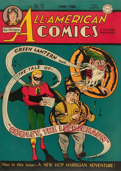 Cover for All-American Comics (DC, 1939 series) #70