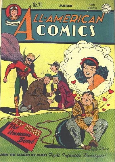 Cover for All-American Comics (DC, 1939 series) #71