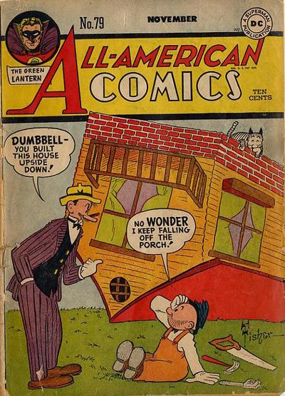 Cover for All-American Comics (DC, 1939 series) #79