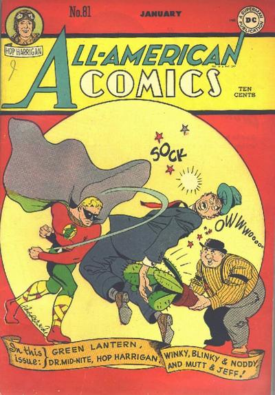 Cover for All-American Comics (DC, 1939 series) #81