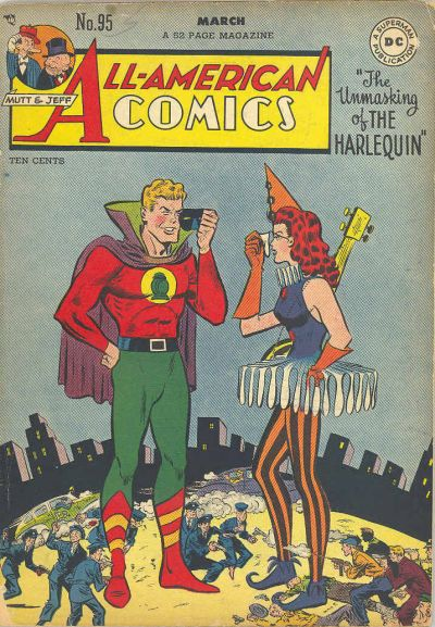 Cover for All-American Comics (DC, 1939 series) #95