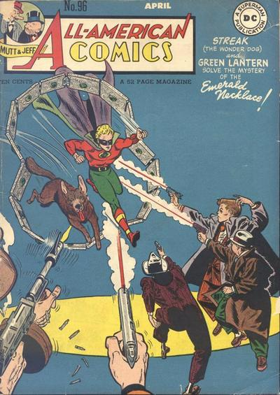 Cover for All-American Comics (DC, 1939 series) #96