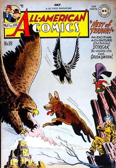 Cover for All-American Comics (DC, 1939 series) #99