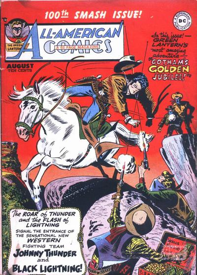 Cover for All-American Comics (DC, 1939 series) #100
