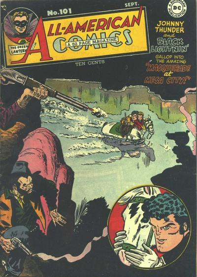 Cover for All-American Comics (DC, 1939 series) #101
