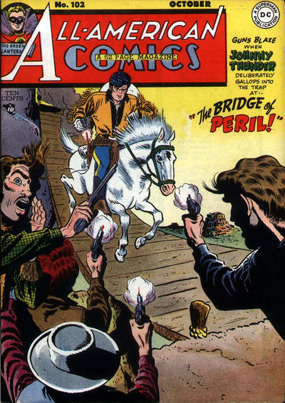 Cover for All-American Comics (DC, 1939 series) #102