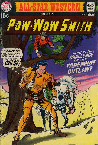 Cover for All-Star Western (DC, 1970 series) #1