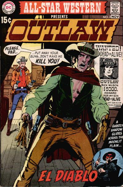 Cover for All-Star Western (DC, 1970 series) #2