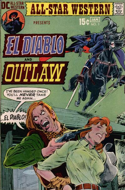 Cover for All-Star Western (DC, 1970 series) #3