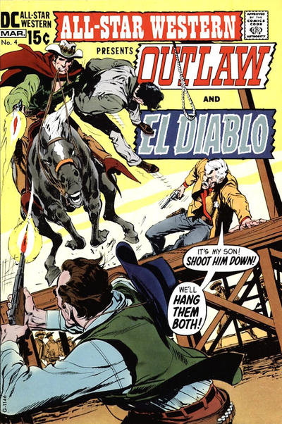 Cover for All-Star Western (DC, 1970 series) #4