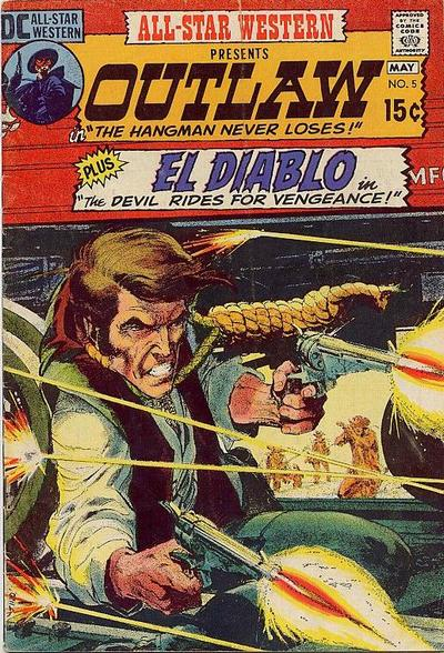 Cover for All-Star Western (DC, 1970 series) #5