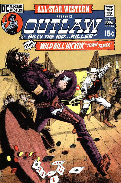 Cover for All-Star Western (DC, 1970 series) #6