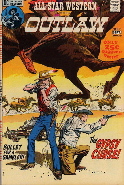 Cover for All-Star Western (DC, 1970 series) #7