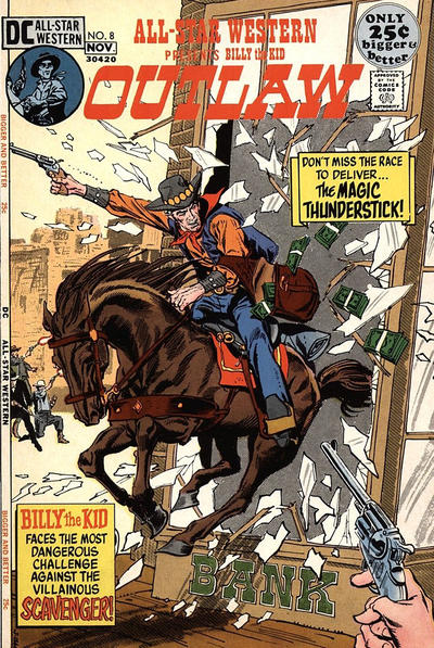 Cover for All-Star Western (DC, 1970 series) #8