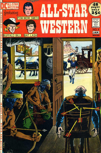 Cover for All-Star Western (DC, 1970 series) #9