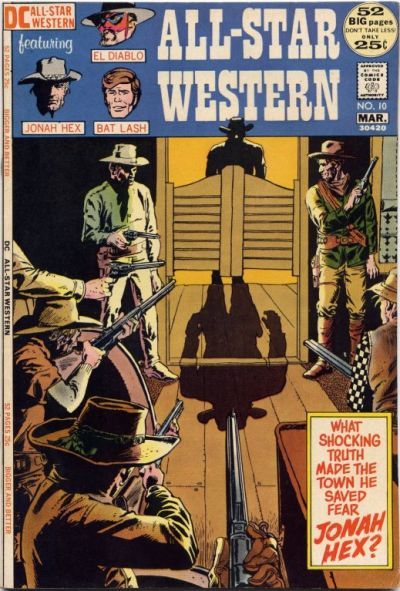 Cover for All-Star Western (DC, 1970 series) #10