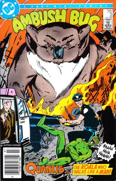 Cover for Ambush Bug (DC, 1985 series) #2 [Direct Sales]