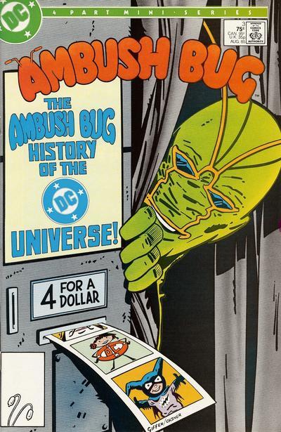 Cover for Ambush Bug (DC, 1985 series) #3