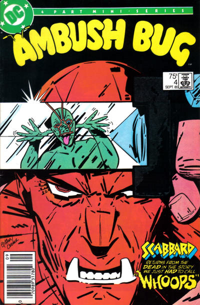 Cover for Ambush Bug (DC, 1985 series) #4 [Direct Sales]