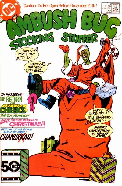 Cover for Ambush Bug Stocking Stuffer (DC, 1986 series) #1 [Direct Sales]