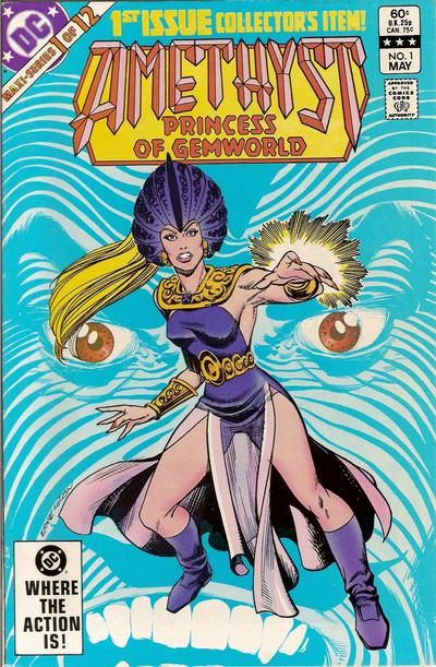 Cover for Amethyst, Princess of Gemworld (DC, 1983 series) #1 [Direct Edition]