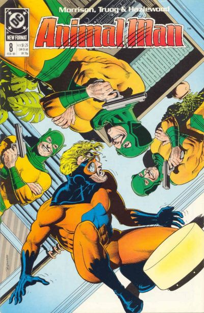 Cover for Animal Man (DC, 1988 series) #8