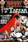 Cover for Korak, Son of Tarzan (DC, 1972 series) #50